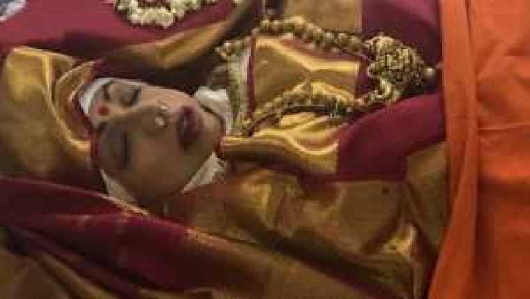 Sridevi's dead body