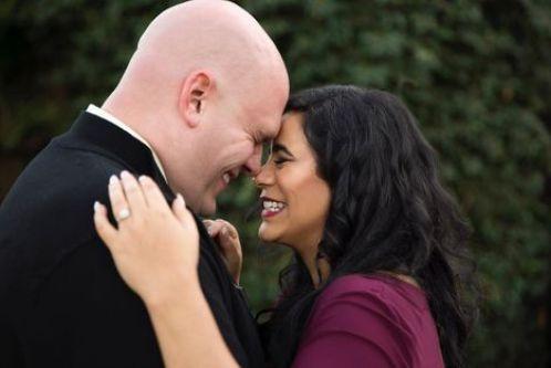 Jessica Marie Garcia with her husband
