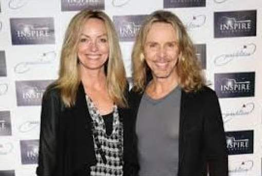 Jeanne Mason is with her husband, Tommy Shaw
