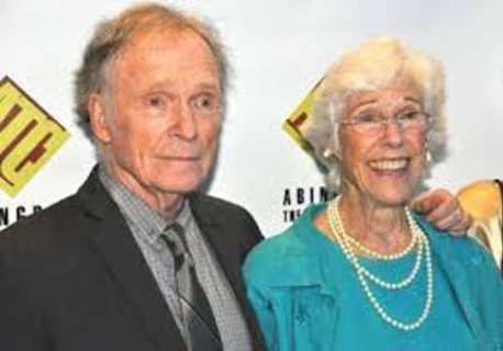 Frances with her late-husband, Thomas Carlin