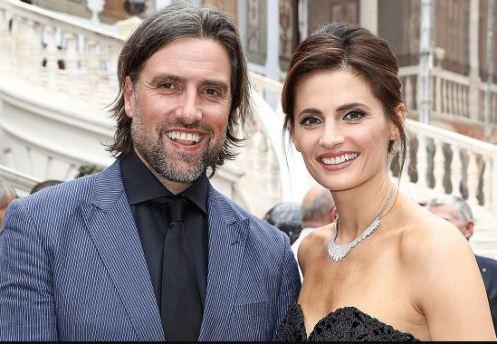 Stana Katic with her husband, Kris Brkljac