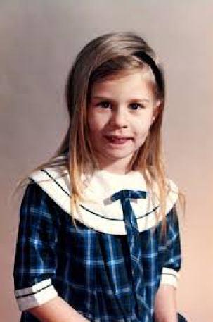 Carole Radziwill at an early age