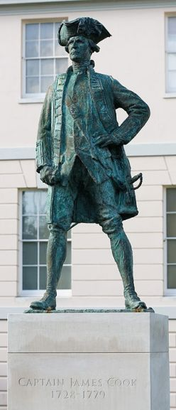 Statue of Cook, Greenwich, London