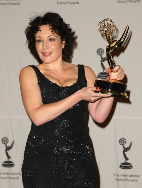 Lucy Cohu won an Emmy award for the Best Performance by an Actress The 36th International Emmy Awards Gala at the New York Hilton New York.