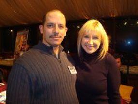 Cynthia Rothrock With Her Former Husband, Ernest Rothrock