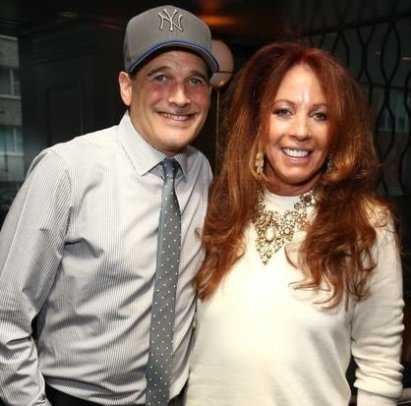Diane Gilman with Philip Bloch celebrating 20 years on HSN