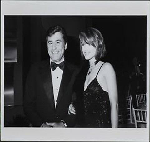 Debrah Farentino with her former spouse James Farentino