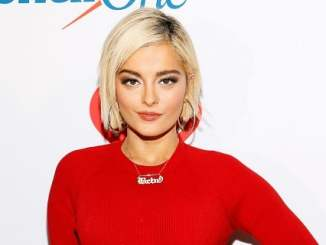 Picture of a singer and songwriter Bebe Rexha