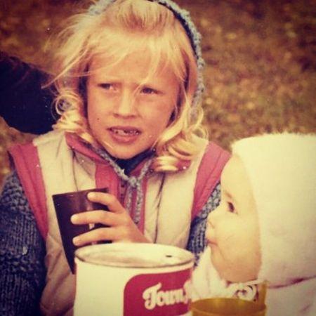 Lisa Durupt's childhood picture