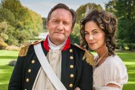 Neil Dudgeon and his wife Mary Peate
