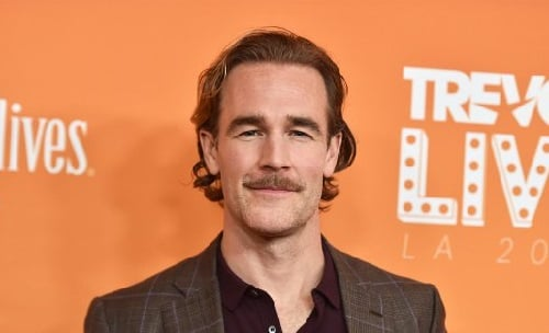 Actor James Van Der Beek image