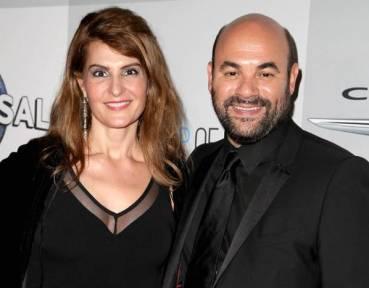 Ian Gomez with his ex-Wife, Nia Vardalos