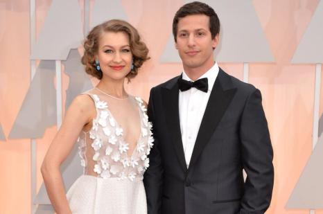 Andy Samberg and his wife Joanna Newsom