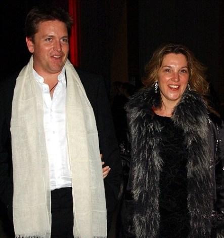 Barbara Broccoli with ex-boyfriend James Martin