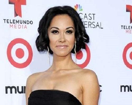 Picture of a television actress Jael de Pardo