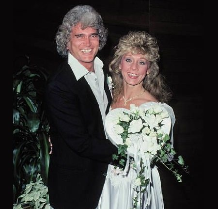 Late Michael Landon with his spouse Cindy Landon
