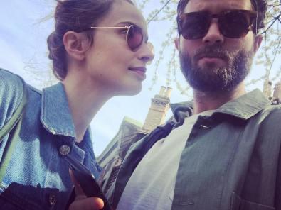 Reida Heed with her boyfriend Sam