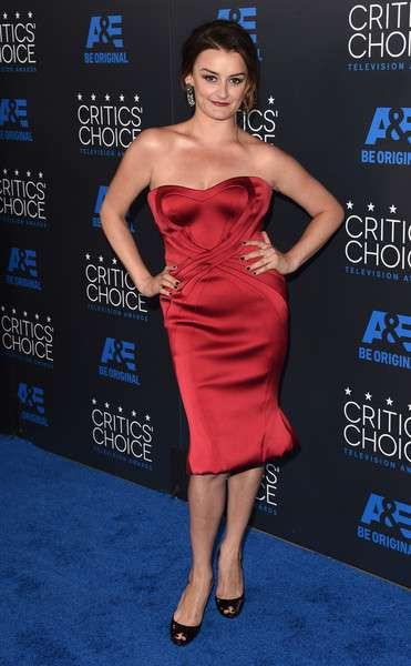 Alison Wright attends the 5th Annual Critics' Choice Television Awards at The Beverly Hilton Hotel on May 31, 2015 in Beverly Hills, California.