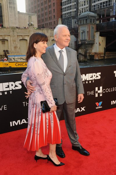 Stella with her husband Anthony Hopkins