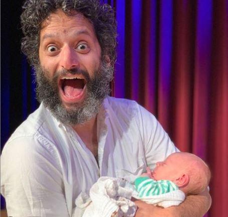 Paul Scheer's newly born first baby.