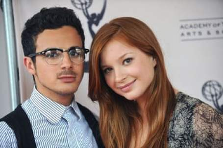 Adamo Ruggiero with her girlfriend, Stacey Farber