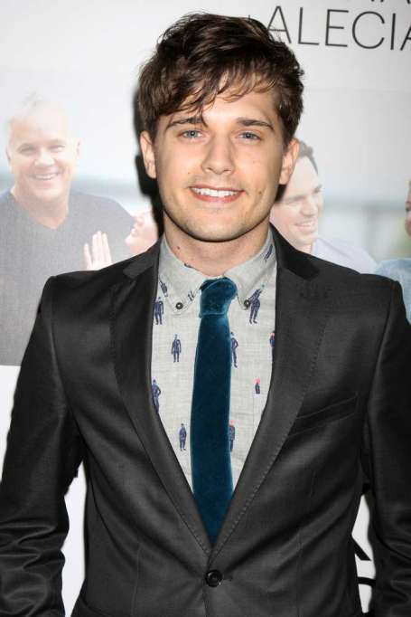 Andy Mientus arrived at the Gone premiere.