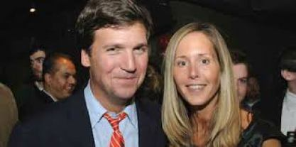 Susan Andrews with her husband Tucker Carlson