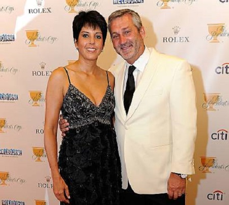 Frank Nobilo and his wife Selena Nobil