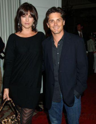 Julie Pinson with her husband, Billy Warlock