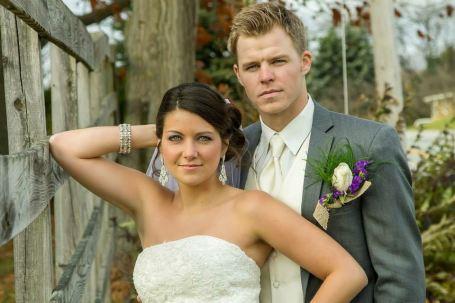 Lakyn Pennington and Brock Holt's Wedding.