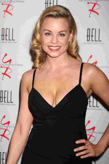 Jessica Collins at The Young & Restless Anniversary Party in West.