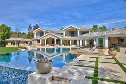 Jeff Kaplan villa, Santa Rosa Valley, California House