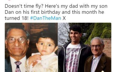 Sameena Ali Khan's Son.
