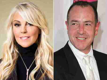 Photo of Dina Lohan and her ex-husband, Michael Lohan.