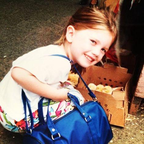 Nicki Clyne's childhood picture