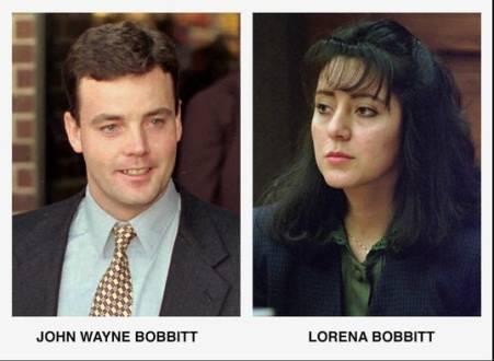 Lorena and her ex-husband, John Wayne