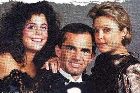 Bernadette Birk with her second husband, John Parisella and her daughter, Bethenny Frankel.