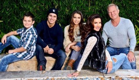 Nicole O'Brian and her husband, Brad Ballard with their nephews.