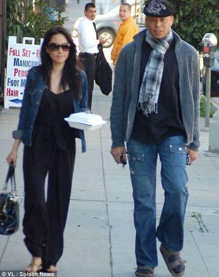 Rachel Smith with her ex-boyfriend, Terrence Howard.