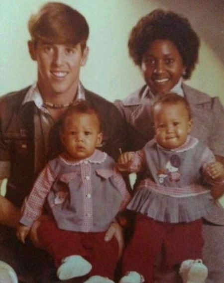 Photo of Darlene Mowry and her husband, Tim Mowry with their children.