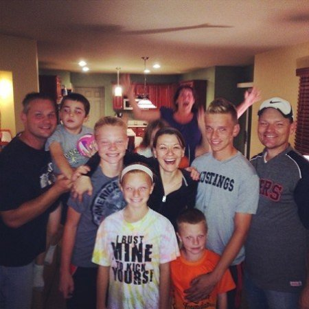 Maribeth Monroe and her husband,l Cobb are celebrating their newly born daughter's birthday with their family.