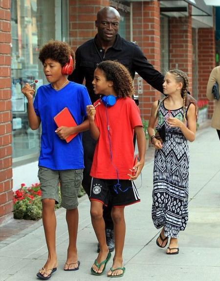 Johan Riley Fyodor Taiwo Samuel with his siblings