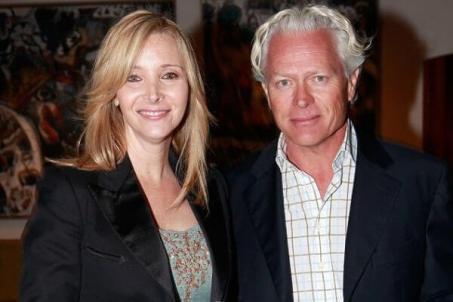Lisa Kudrow with her husband