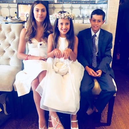 bella cuomo with her siblings