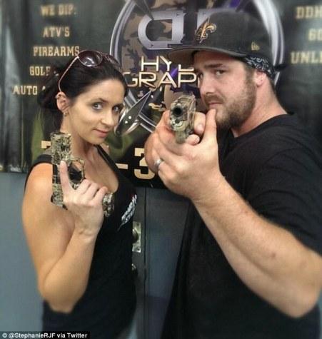 Stephanie with her husband, Kris