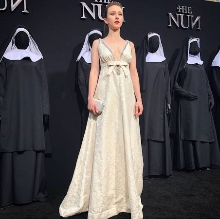 Taissa Farmiga in the premiere of The Nun