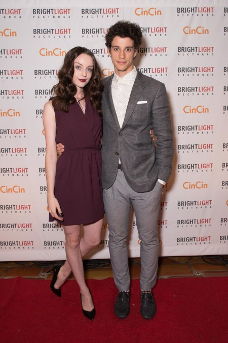 Kacey Rohl and her ex-boyfriend