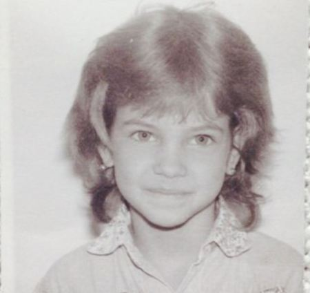 Childhood image of Barbara Plavin