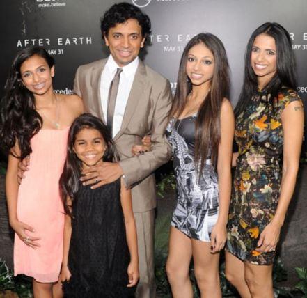 The family photo of Shivani Shyamalan