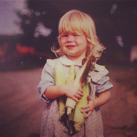 Lily Rabe's childhood picture